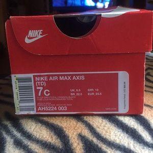 Toddler boys Nike Air Max Axis (TD)